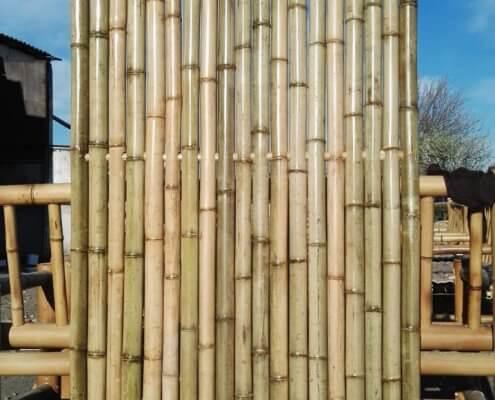 paneles de bambú