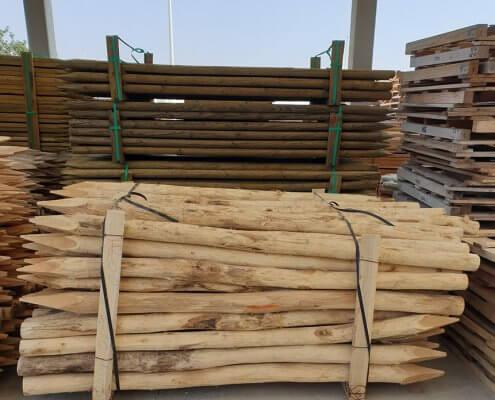venta de postes de acacia para agricultura