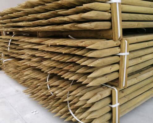 Poste de pino