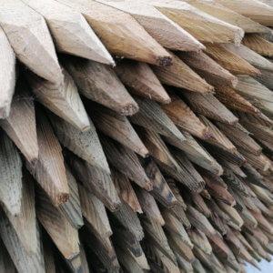 poste de pino cuadrado