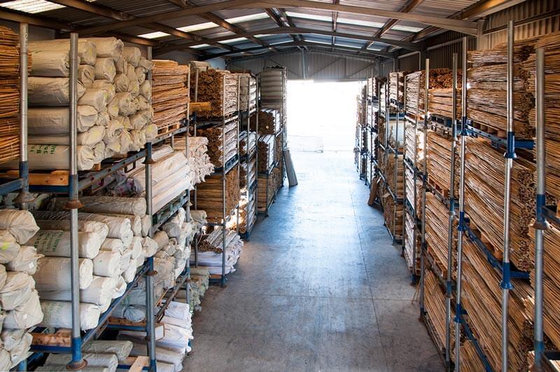 Almacén de bambú en Agricheap
