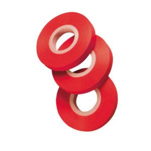 Cinta PVC roja