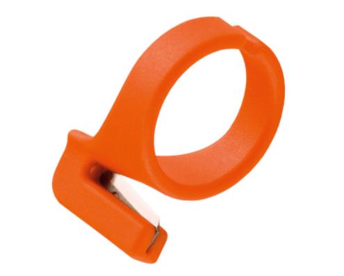 cuchillo de anillo de plástico
