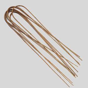 Espalderas de bambú en forma de U