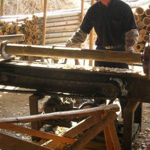 bambú decorativo de fabricación manual