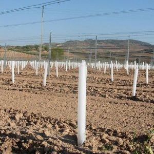 protector de cultivos doble capa enrollable