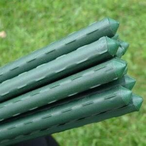 tutores de acero plastificados